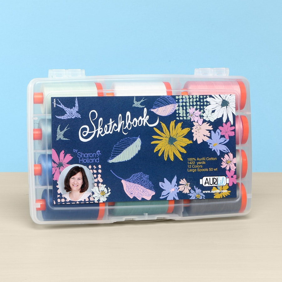 Sketchbook by Sharon Holland Aurifil Collection