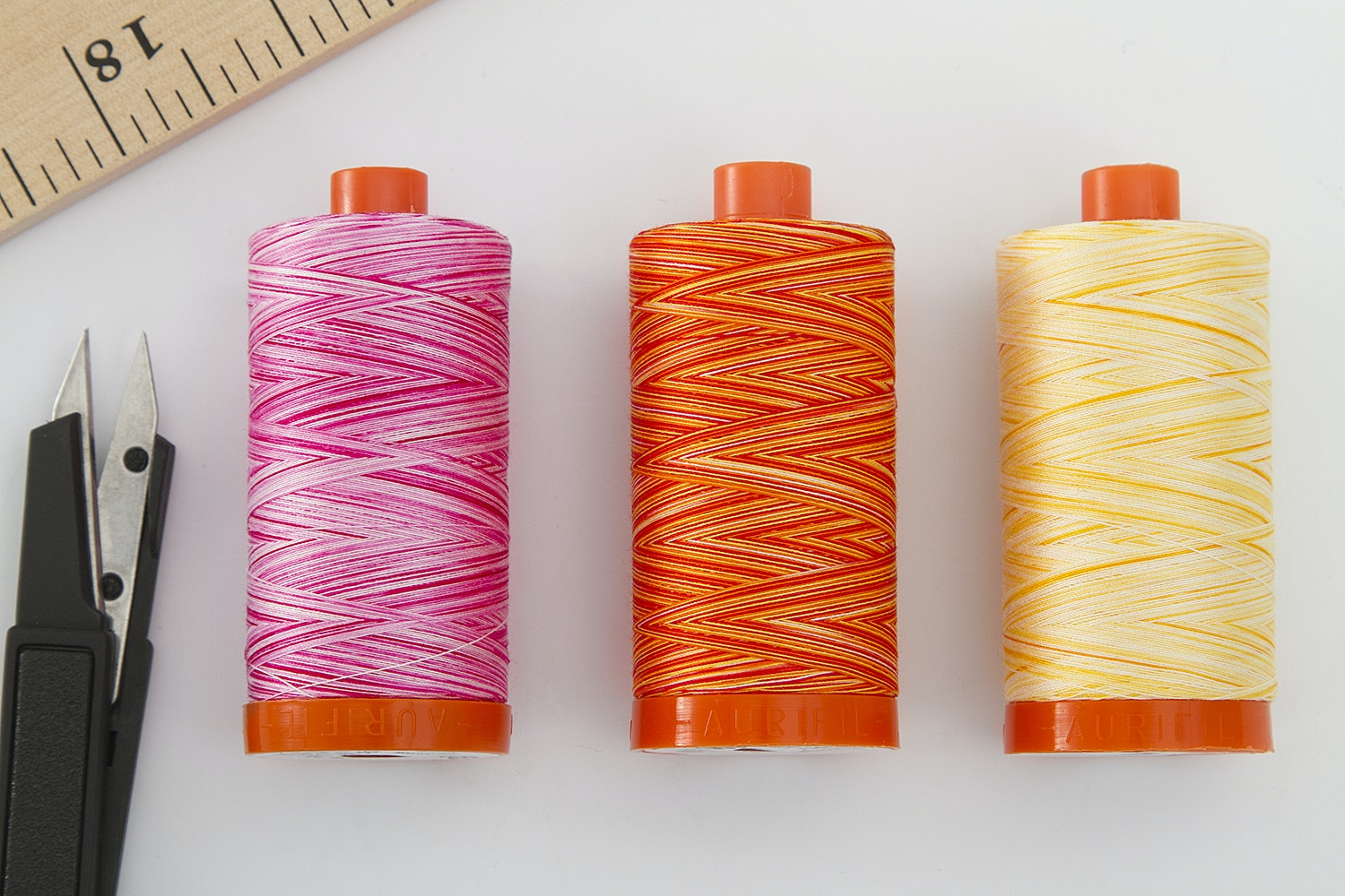 Aurifil 50wt Variegated Color Bundle