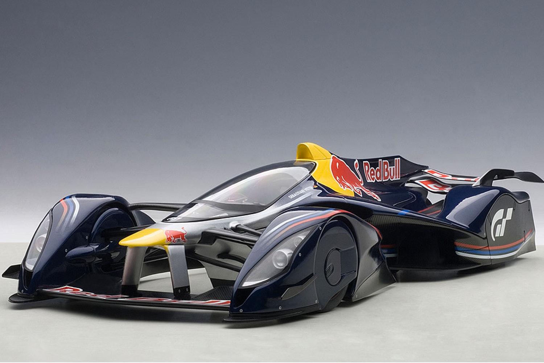 Red Bull X2014 Fan Car, Red Bull Color