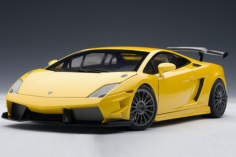 Lamborghini Gallardo LP560 4 Super Trofeo, Yellow