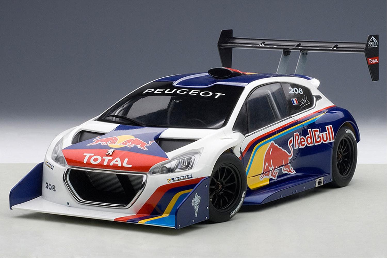 Peugeot 206 T16 Pikes Peak Race Car 2013, Red Bull (-$165)