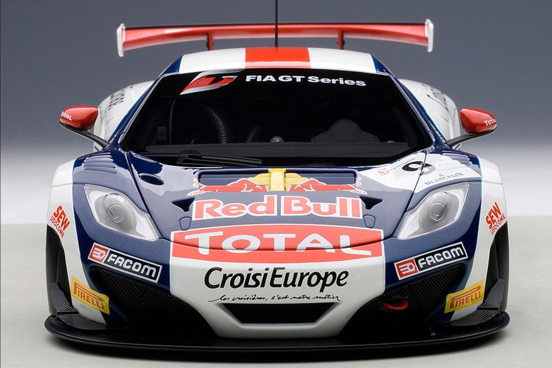 McLaren 12C GT3,  Red Bull, S.Loeb/A.Parente #9 (-$100)