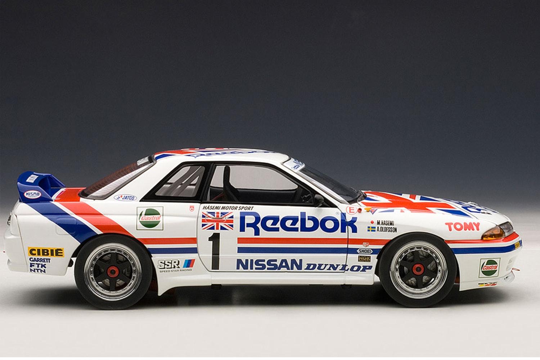 Nissan Skyline GT-R (R32) Group A 1990 Reebok #1 (-$145)