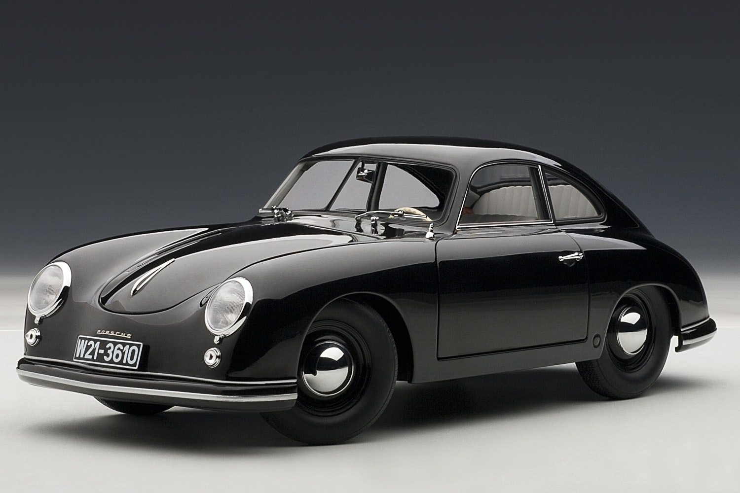 Porsche 356 Coupe 1950, Black