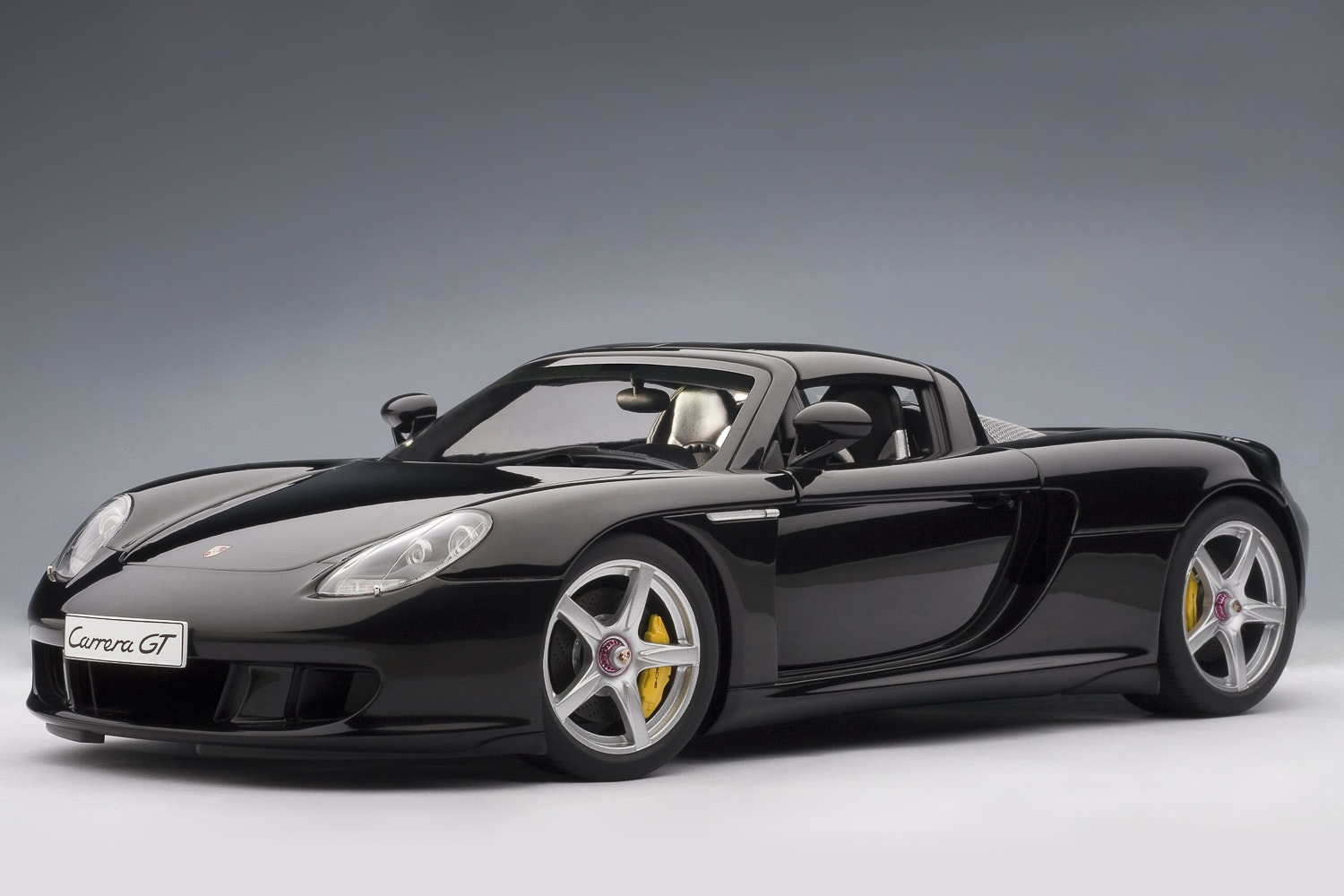 Porsche Carrera GT, Black with Black Interior