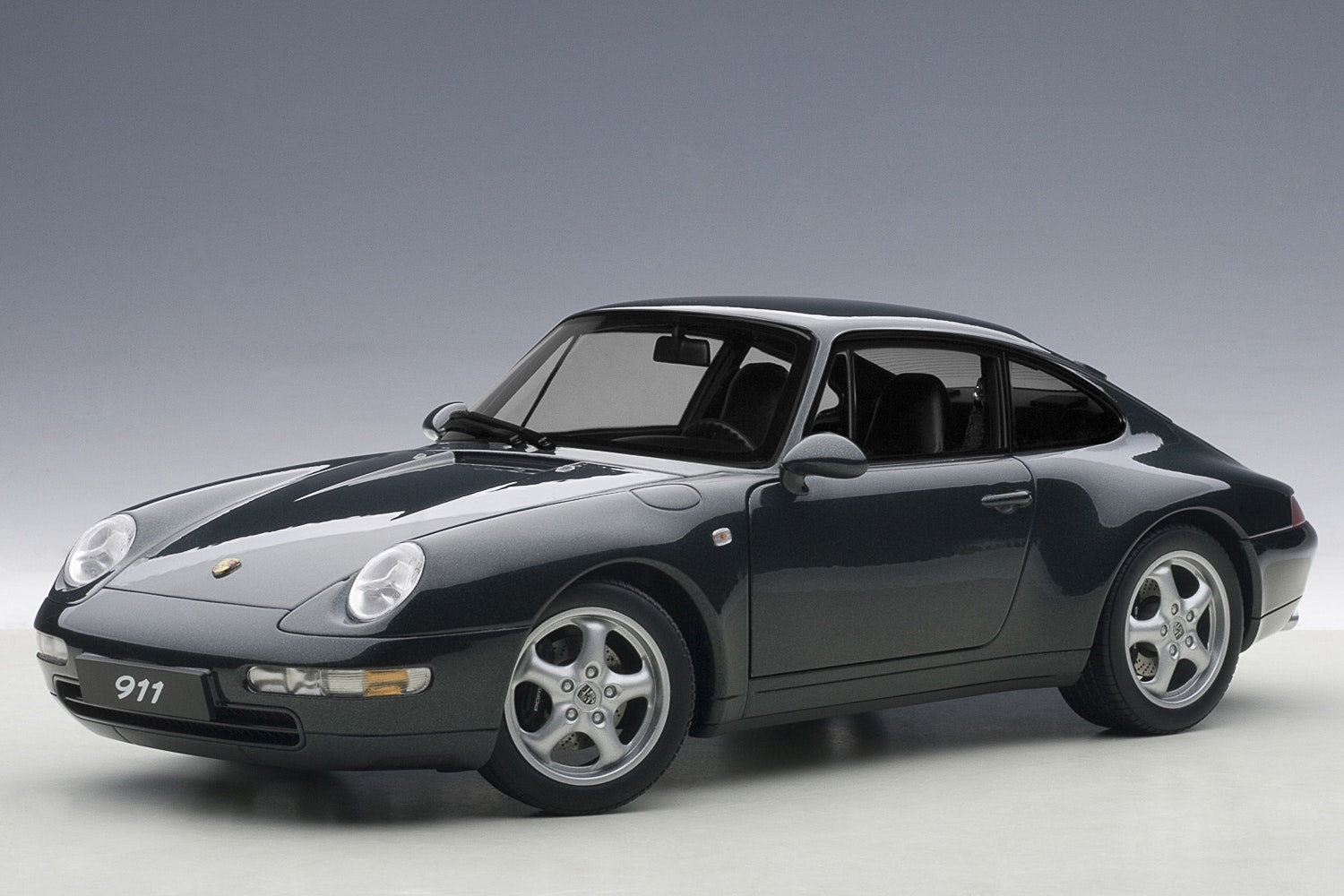 Porsche 993 Carrera 1995, Green Metallic