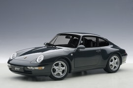 Porsche 993 Carrera 1995, Green Metallic (+$15)