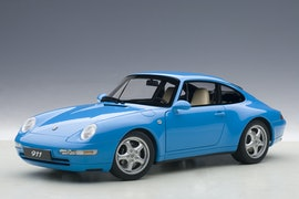 Porsche 993 Carrera 1995, Riviera Blue Metallic (+$5)