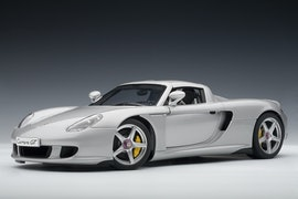 Porsche Carrera GT, Silver with Black Interior (-$-10)