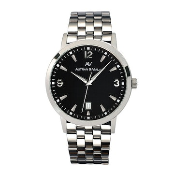 Black dial on SS bracelet (+$50)