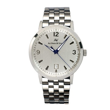 White dial on SS bracelet (+$50)