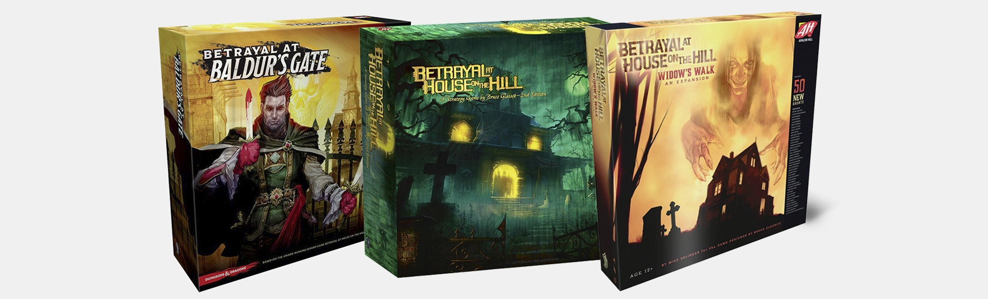 Avalon Hill Betrayal Board Game Bundle