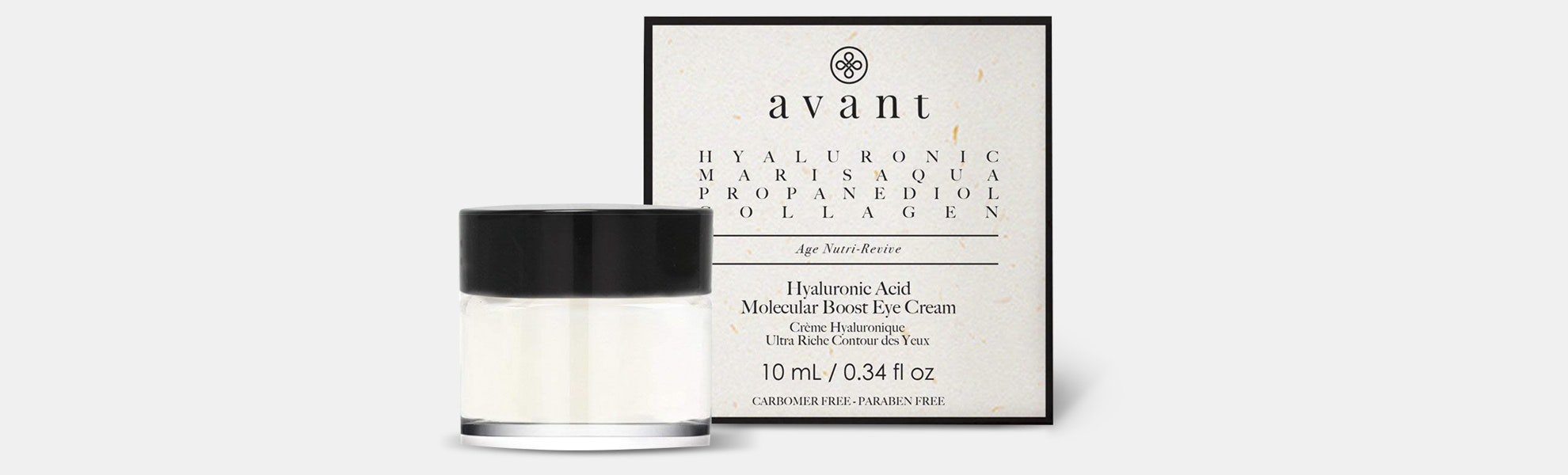Avant Hyaluronic Acid Molecular Boost Eye Cream