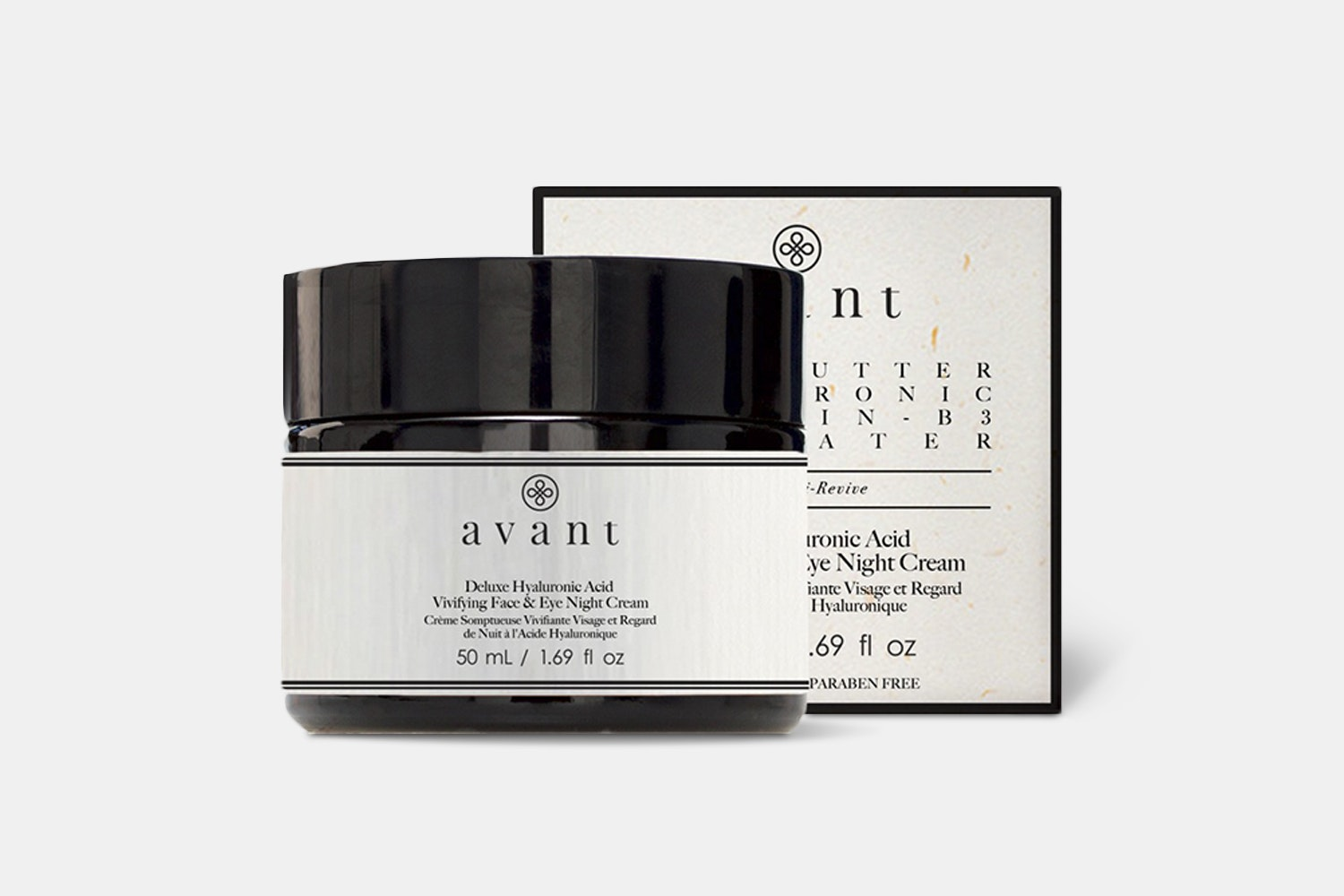 50ml Deluxe Hyaluronic Acid Vivifying Face & Eye Night Cream (+ $15)