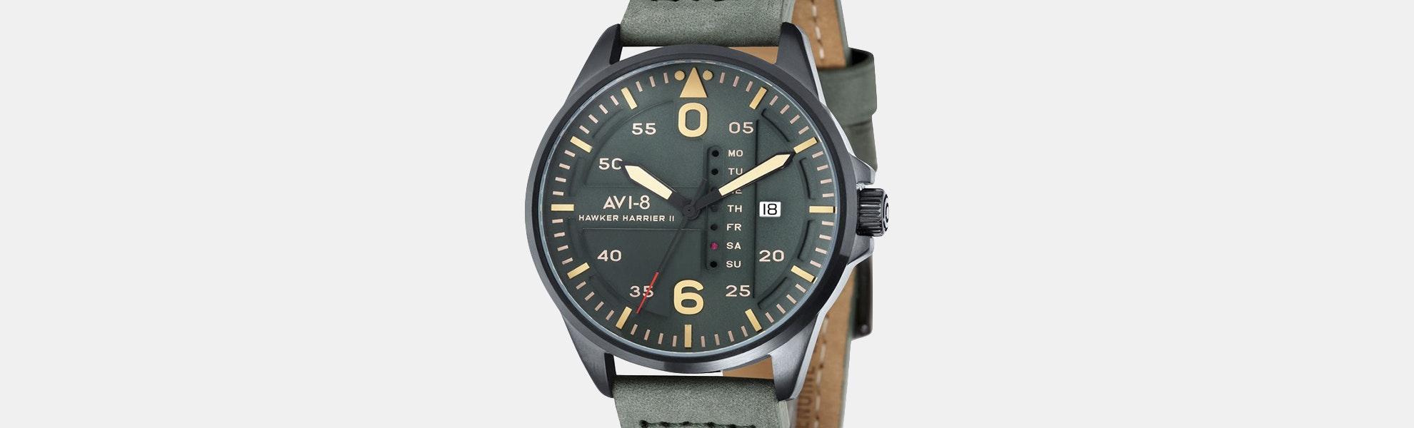 AVI-8 Hawker Harrier II AV-4003 Quartz Watch