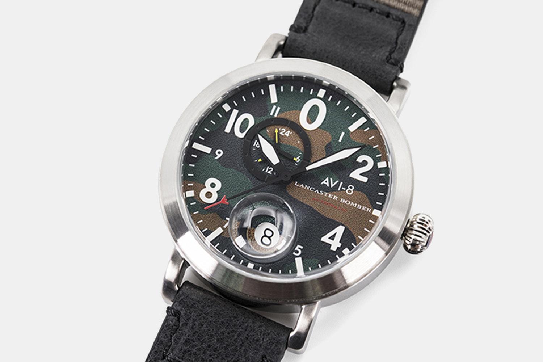 AVI-8 Lancaster Bomber AV-4038 Automatic Watch