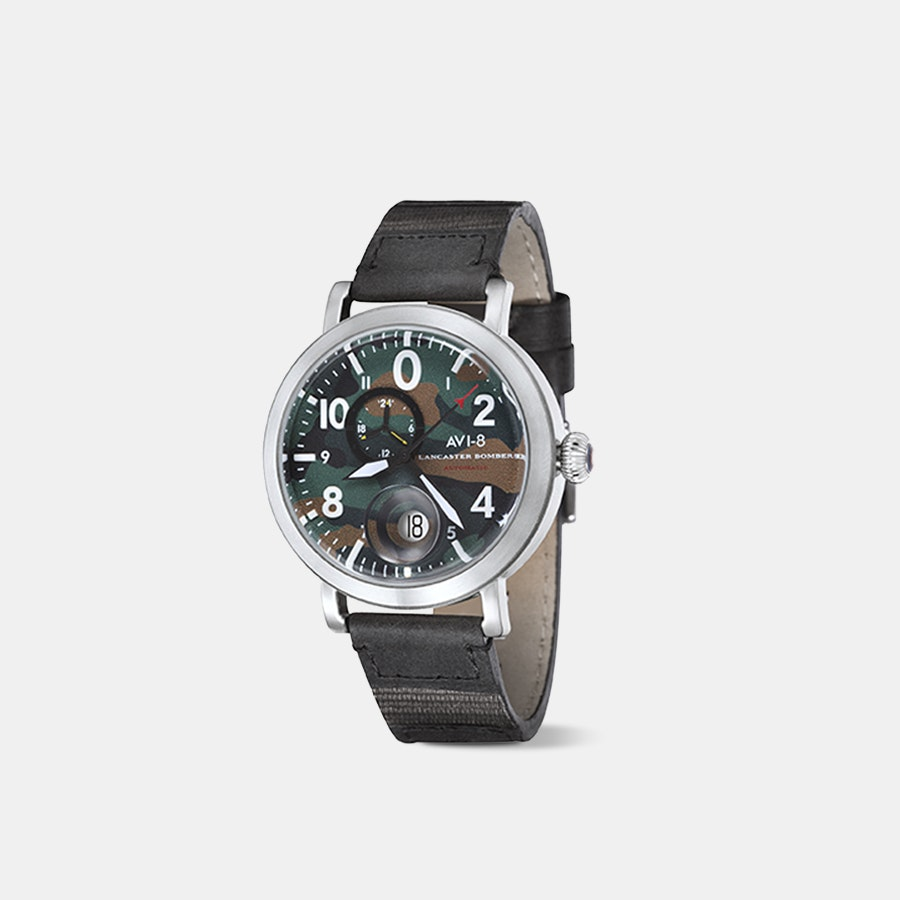AVI-8 Lancaster Bomber AV-4038 Automatic Watch
