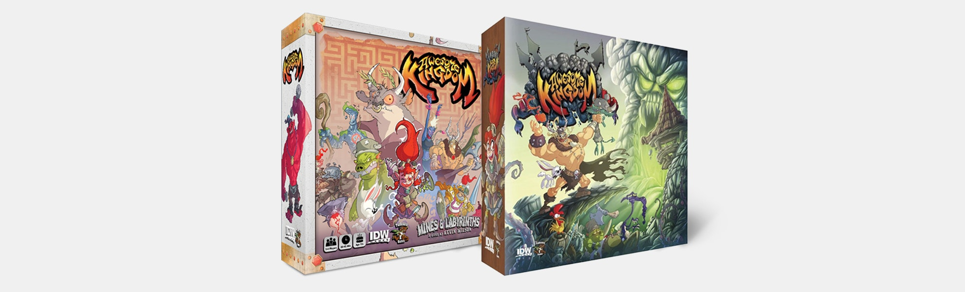 Awesome Kingdom Board Game Bundle