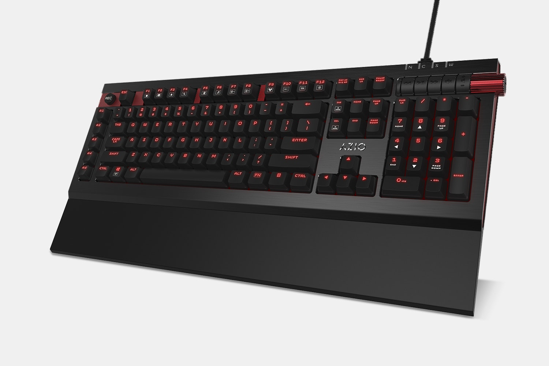 Armato Black/Red with Standard Keys