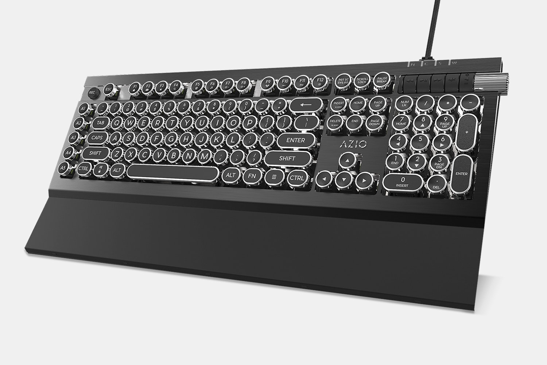Armato CE Black/Silver with Retro Keys