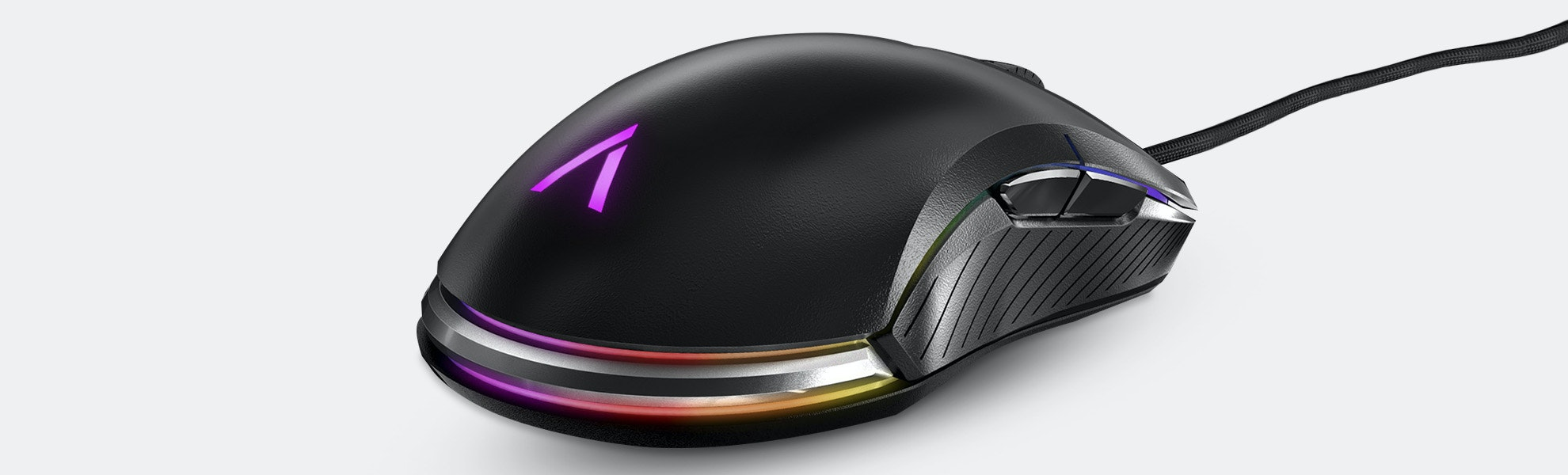 Azio Atom Ambidextrous RGB Gaming Mouse