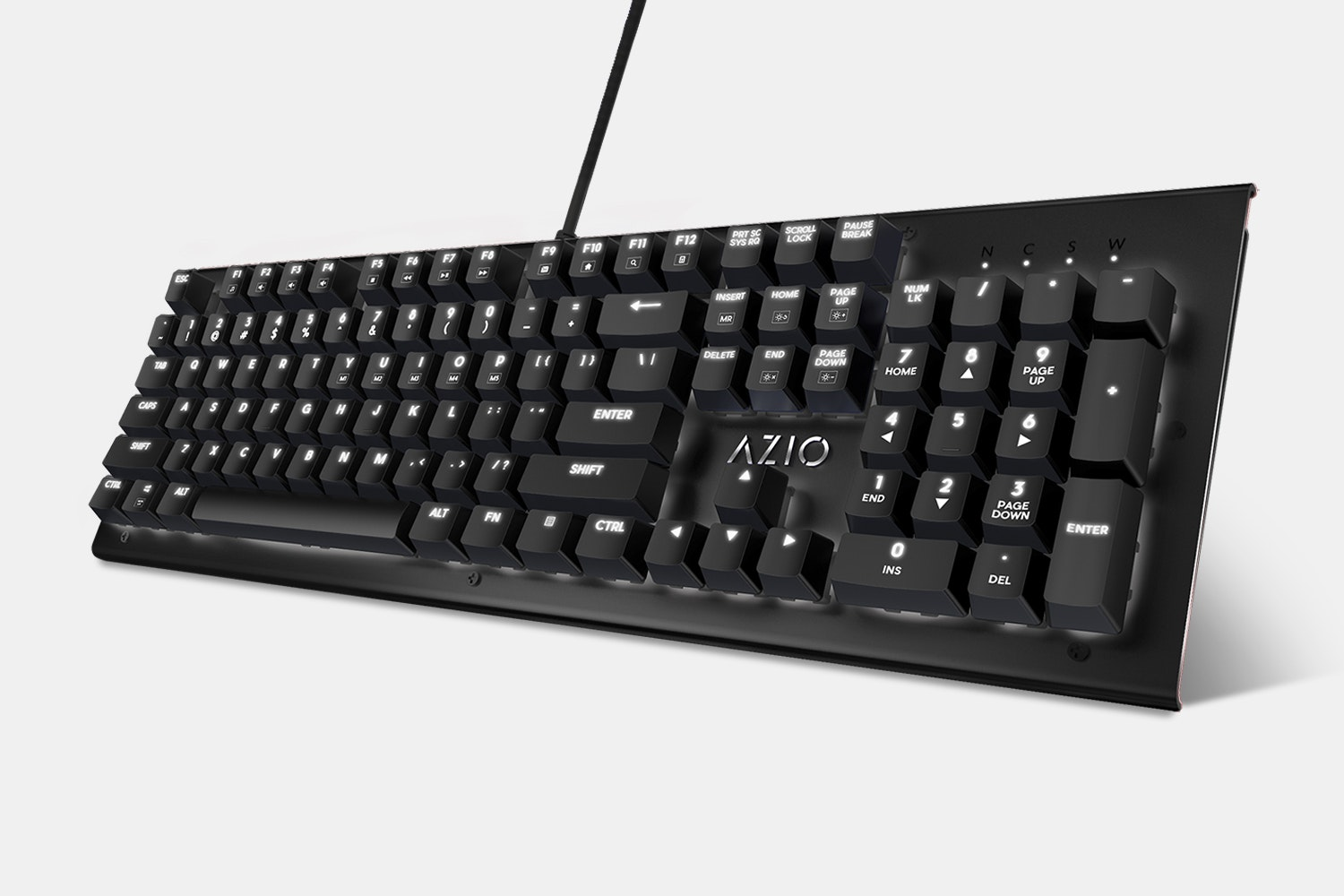 Azio Hue Backlit Mechanical Keyboard