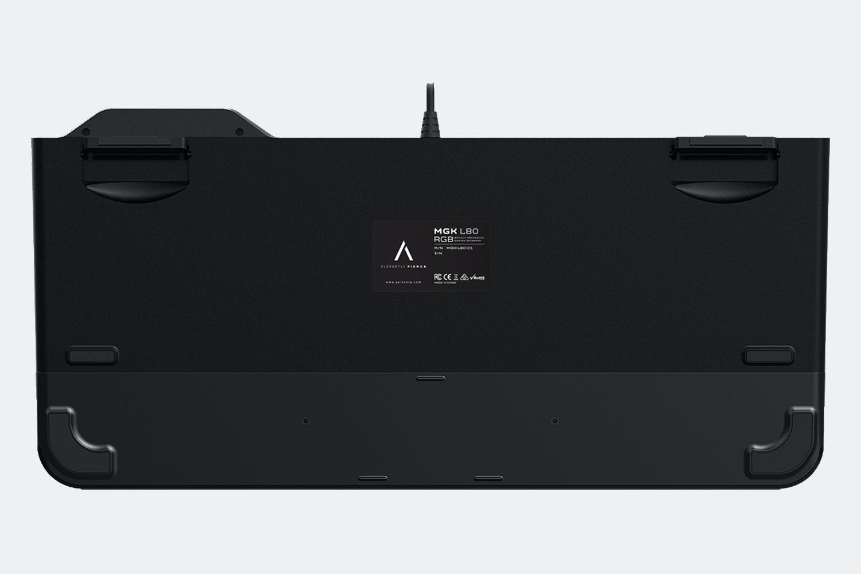 Azio MGK L80 RGB Gaming Mechanical Keyboard