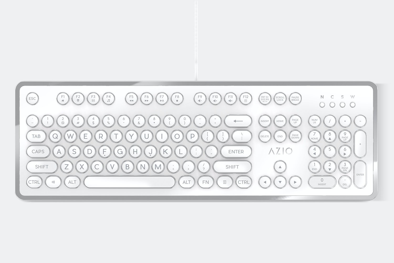 White & Silver Chrome