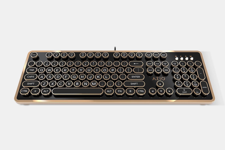 Azio Retro Mechanical Keyboard - Massdrop Exclusive