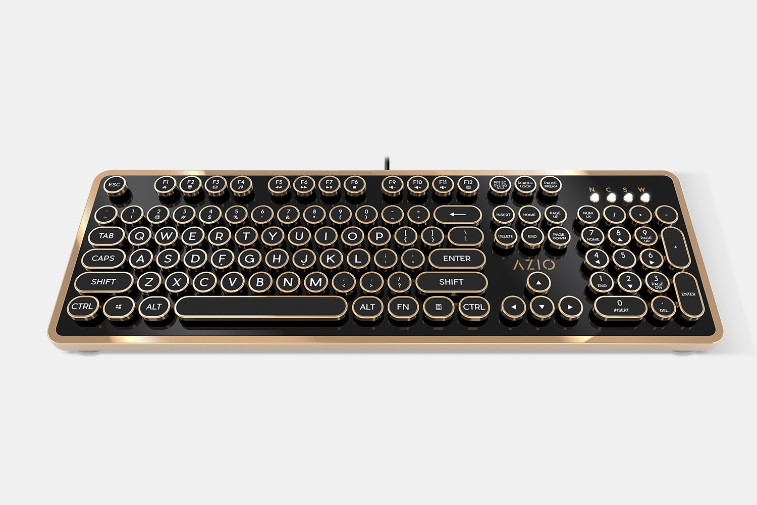 Azio Retro Mechanical Keyboard - Massdrop Exclusive
