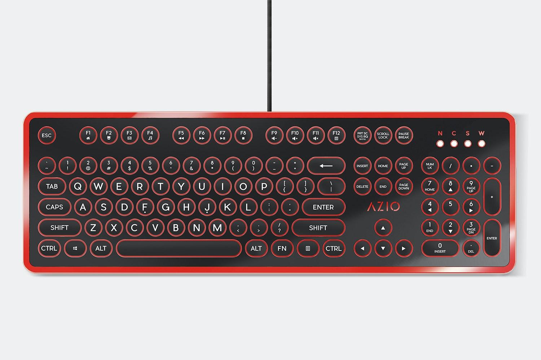 Black & Red Chrome