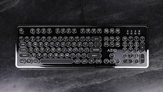Azio MK-Retro Typewriter-Style Mechanical Keyboard