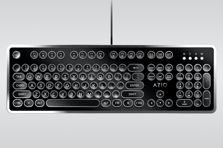 MK-Retro-01 - Black/Silver