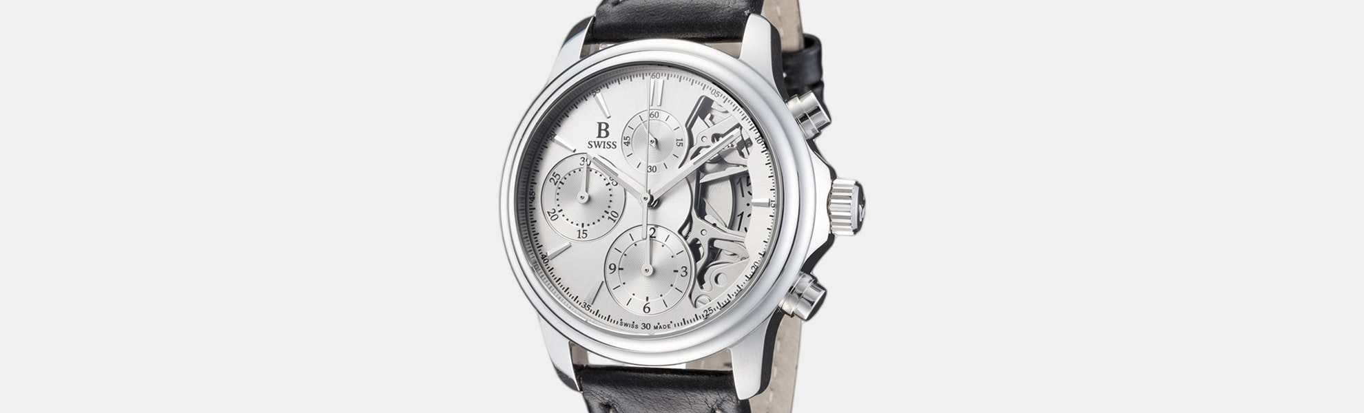 B Swiss by Bucherer Prestige Chrono Automatic Watch