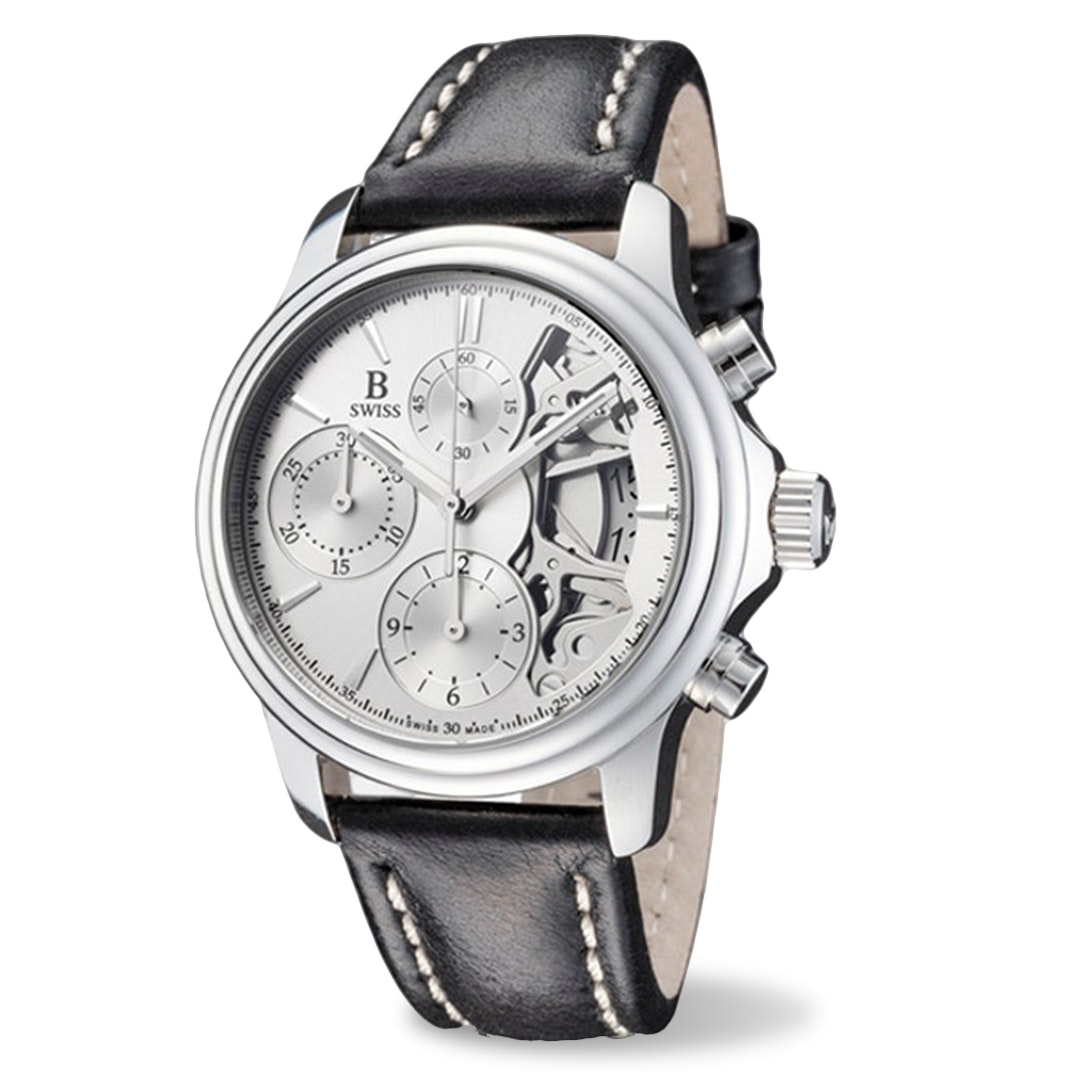B Swiss by Bucherer Prestige Chrono Automatic Watch