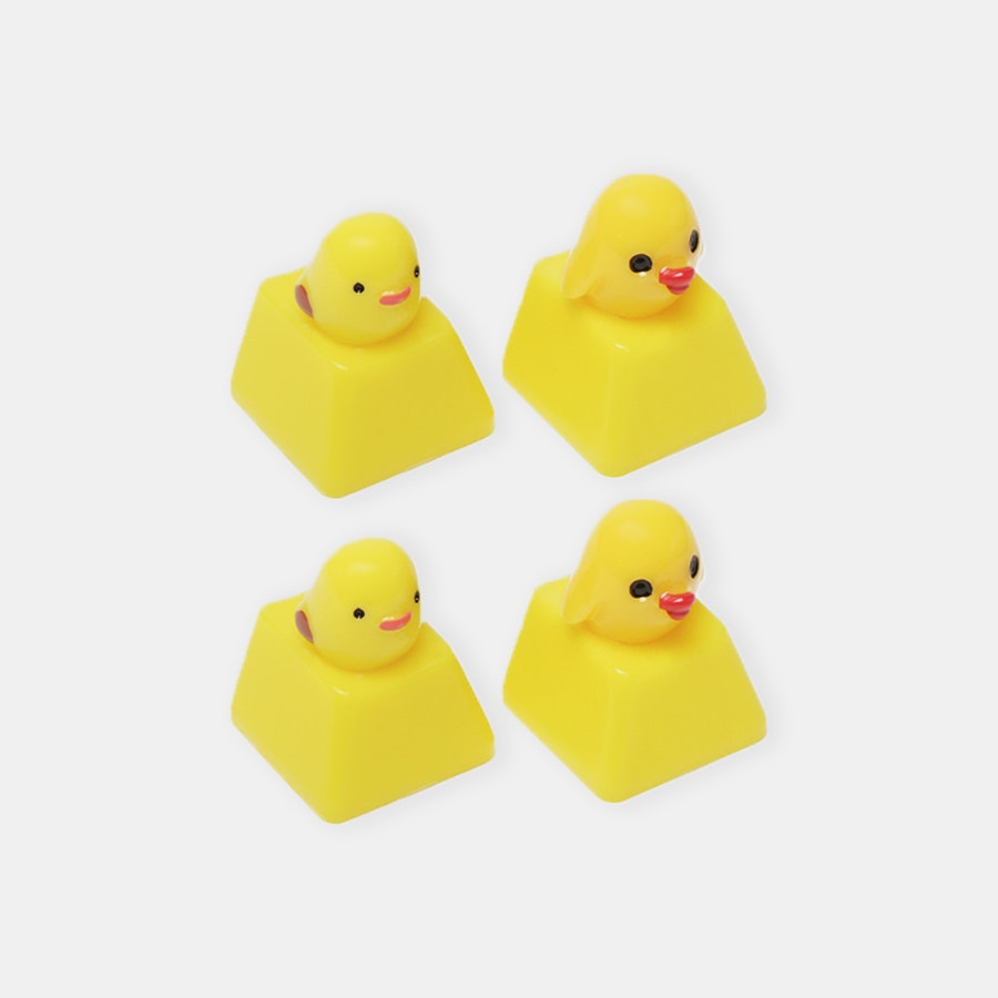 Baby ChickCap Novelty Keycaps (4-Pack)