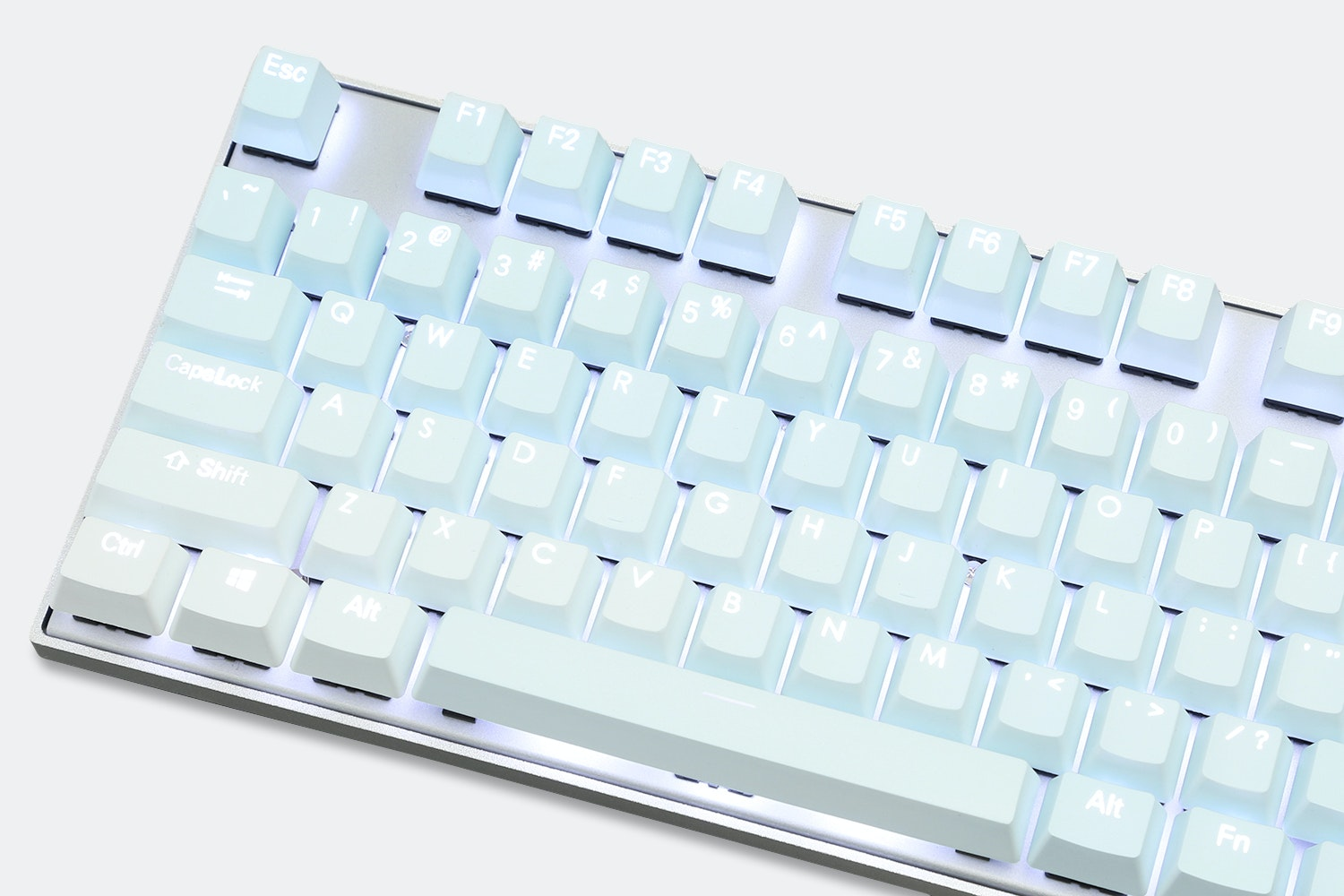 Backlit Doubleshot Gradient PBT Keycap Set