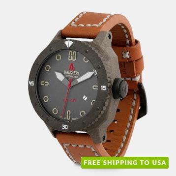 Baldieri Magnum Carbon Automatic Watch