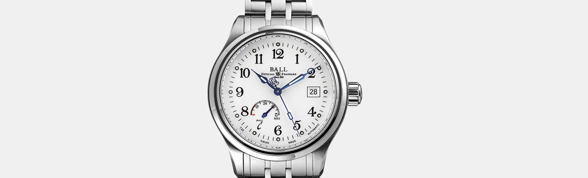 Ball Trainmaster Power Reserve Automatic Watch