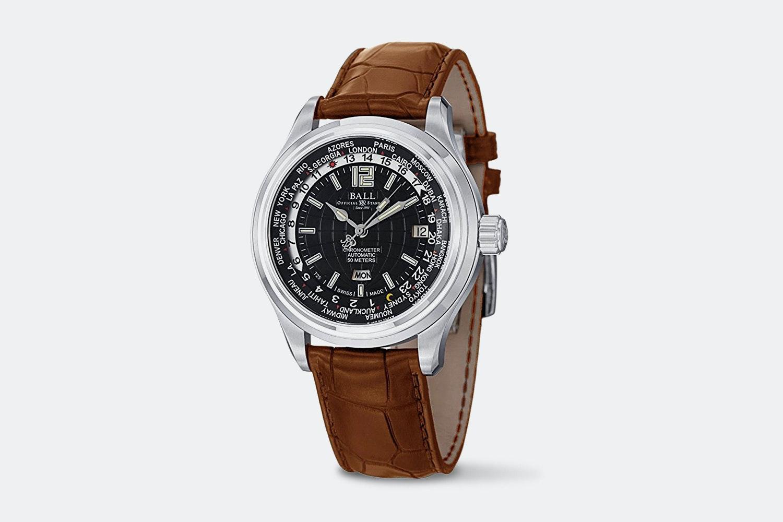 Ball Trainmaster Worldtime Automatic Watch
