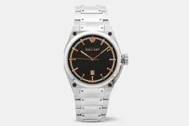 BL-5102-44 | Black Dial, Rose Gold Accents (- $10)