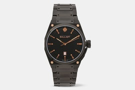 BL-5102-66 | Black PVD Case, Black Dial