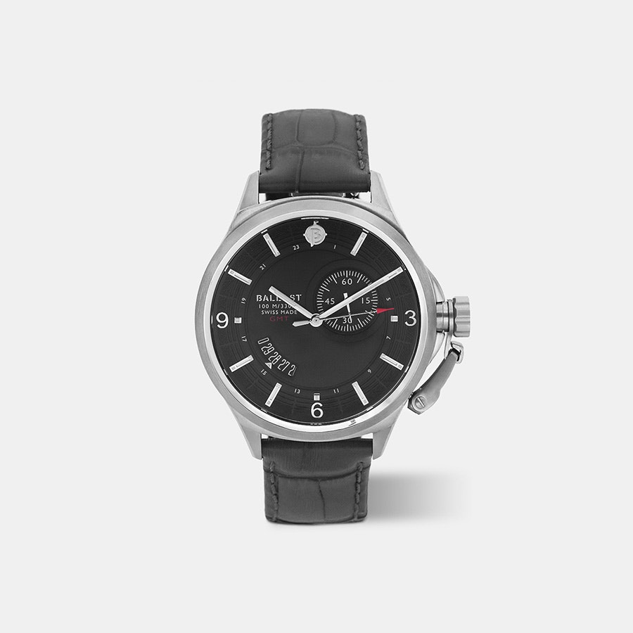 Ballast Trafalgar Dress GMT Quartz Watch