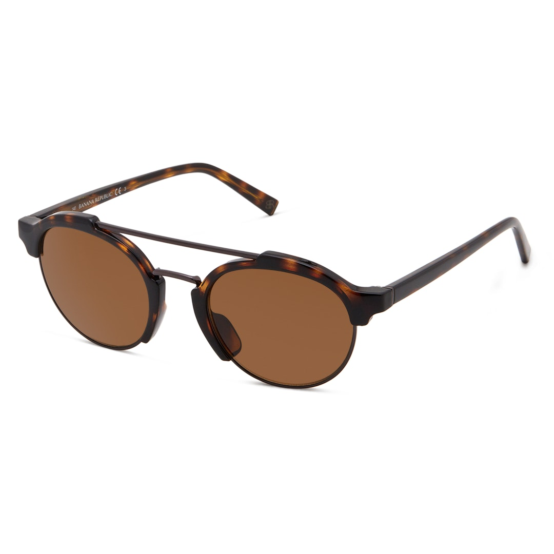 Touche Brown Round Lens Sunglasses