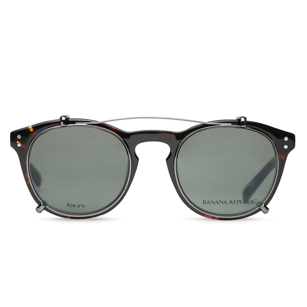 Banana Republic Jaxon Eyeglasses w/ Clip-On Shades