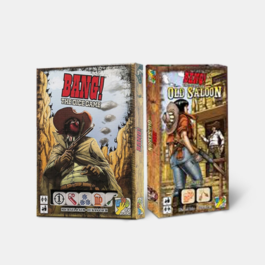 Bang! The Dice Game & Old Saloon Expansion