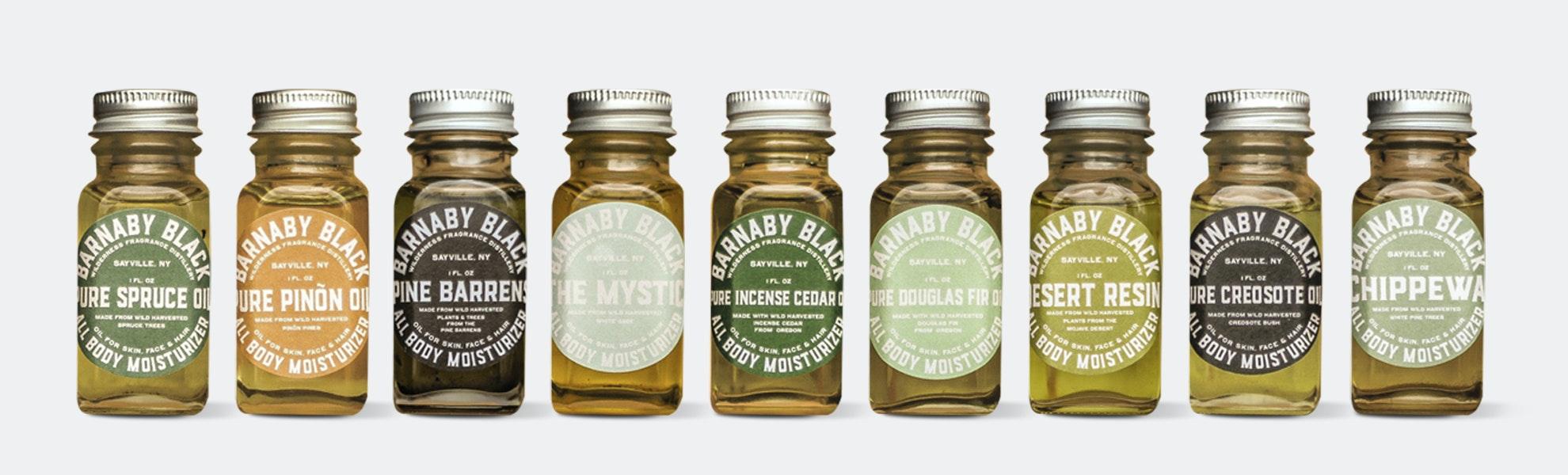 Barnaby Black All-Body Moisturizer Oil