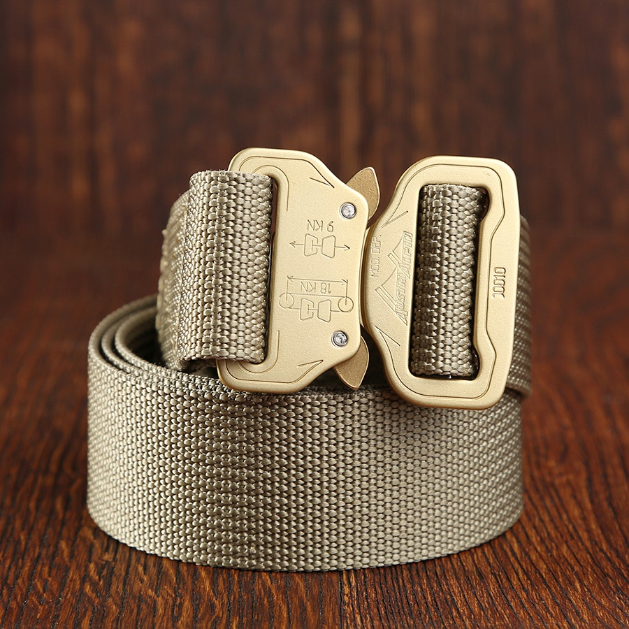 Bastion Everyday/Travel Belts with Aluminum Buckle