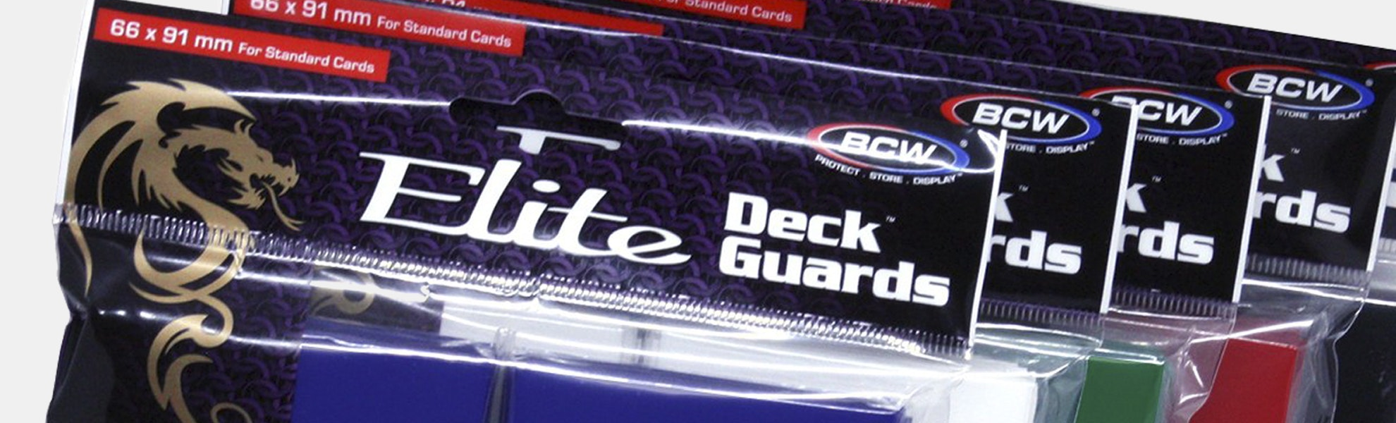 BCW Elite Gaming Glossy Deck Guards (5-Pack)