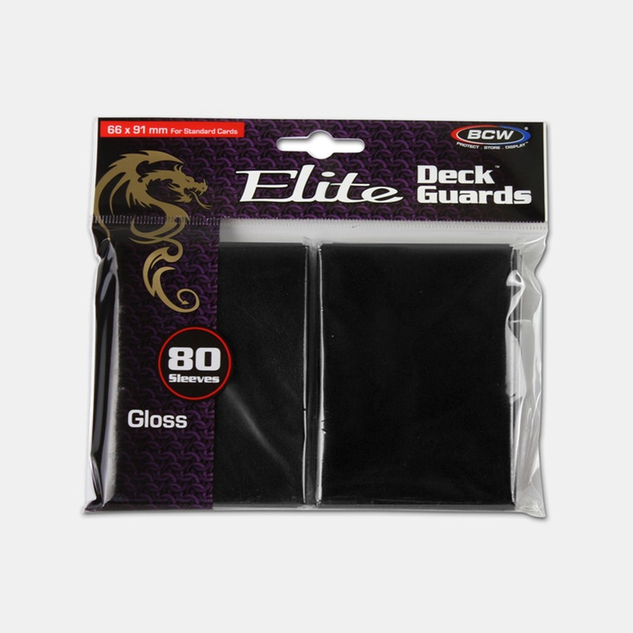 BCW Elite Gaming Glossy Deck Guards (6-Pack)